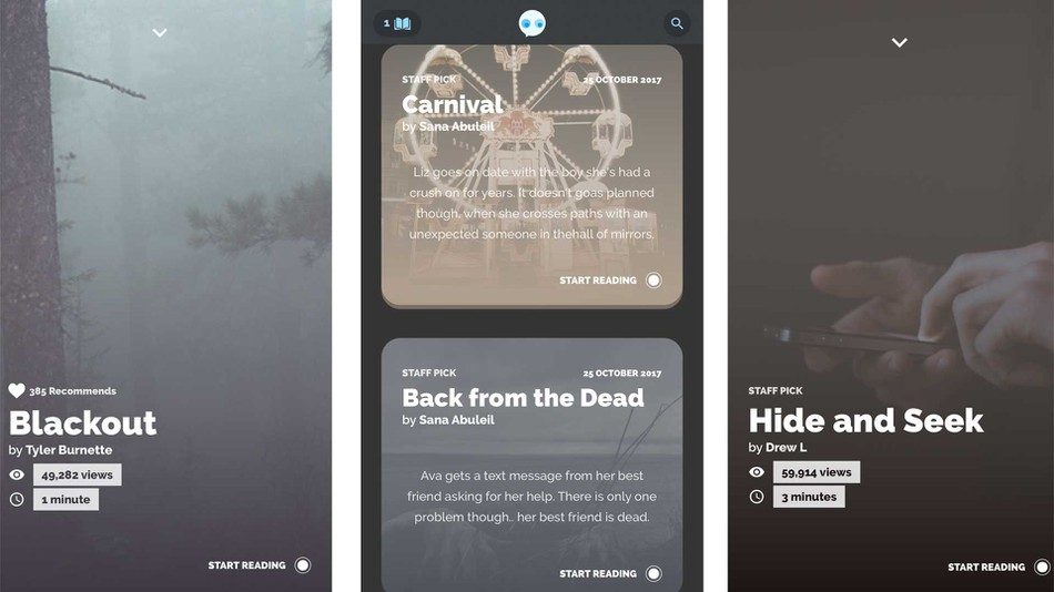 New reading app will get you in the Halloween mood