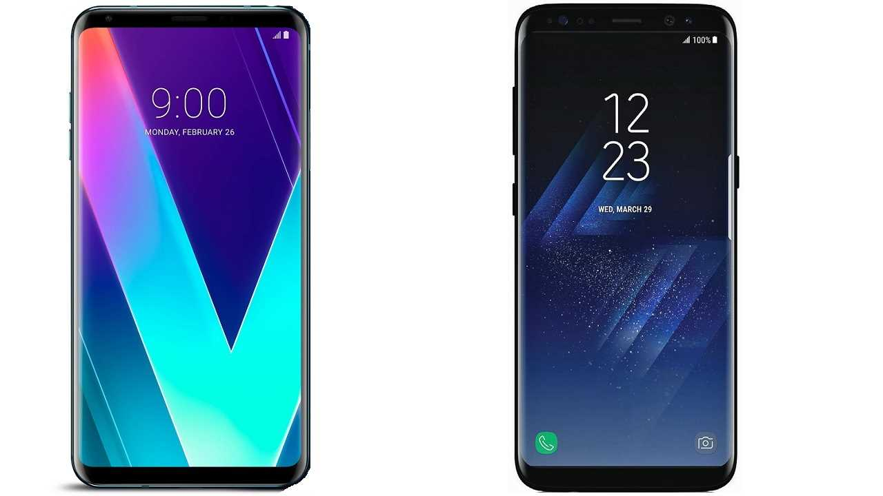 LG V30S ThinQ vs Samsung Galaxy S8