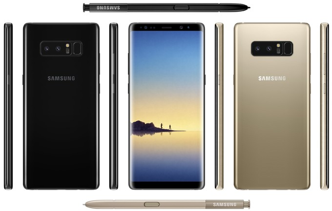 Samsung Galaxy Note 8 exclusive final design and specs