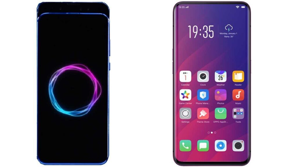 Honor Magic 2 vs Oppo Find X 1
