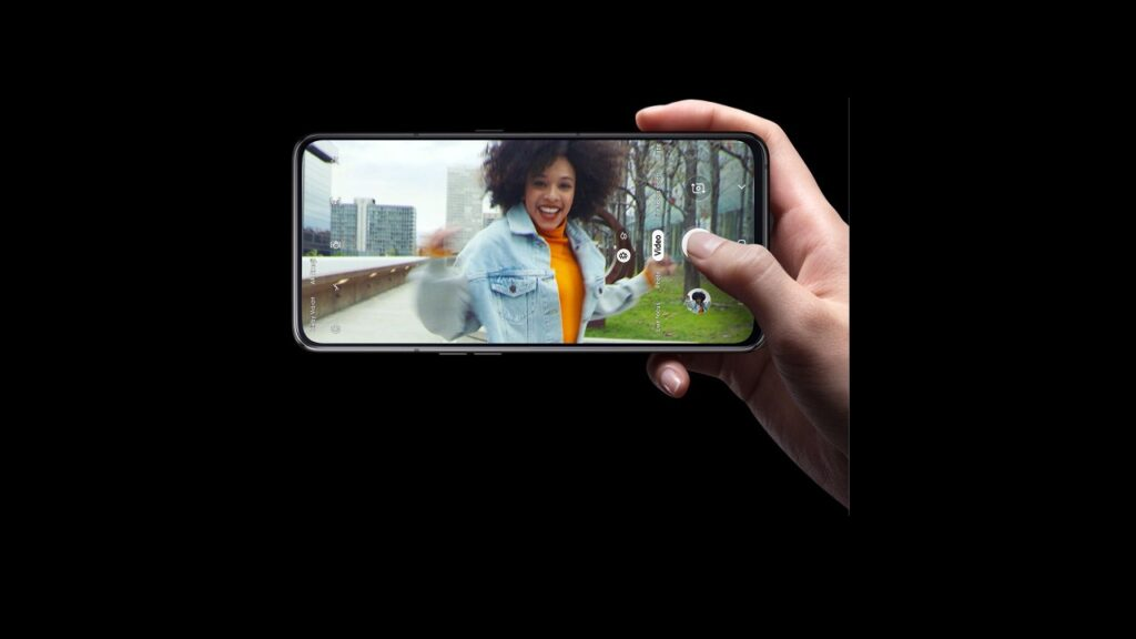 Samsung Galaxy A80 rotating camera