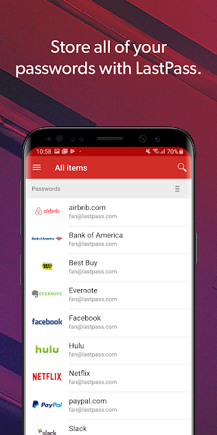 Cool Apps for Android and iOS: Lastpass