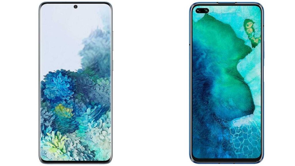 Samsung Galaxy S20+ 5G vs Huawei Honor V30 Pro review
