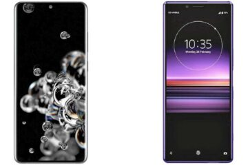 Samsung Galaxy S20 Ultra vs Sony Xperia 1 II review