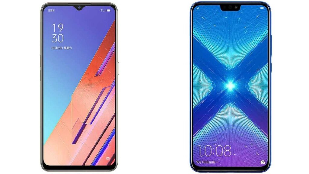 reno3 vitality vs honor 8x