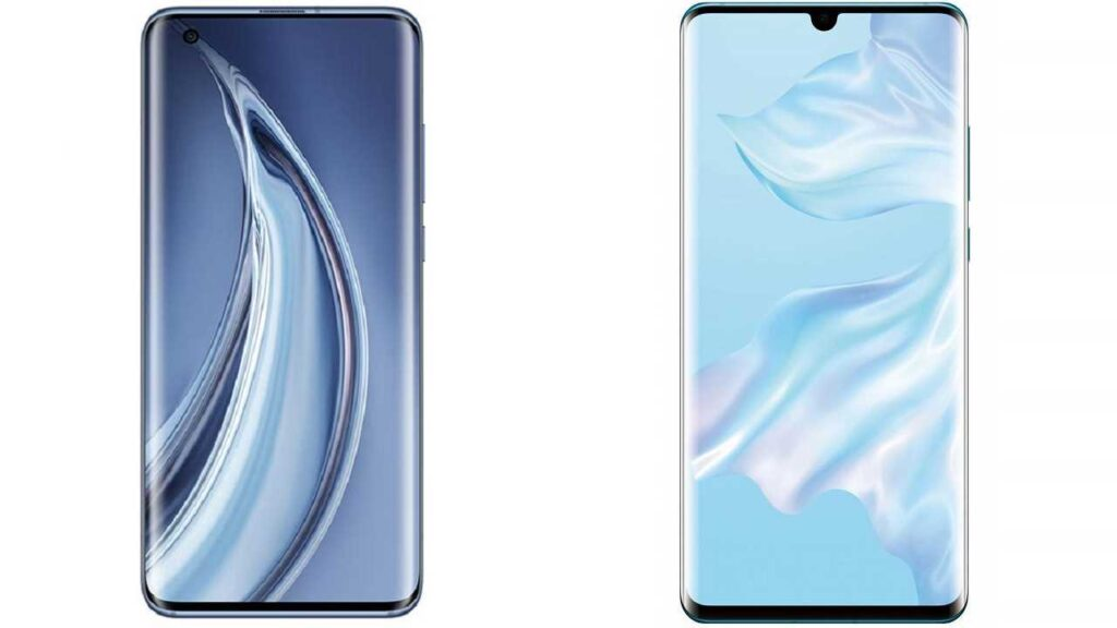 xiaomi mi 10 vs huawei p30  review
