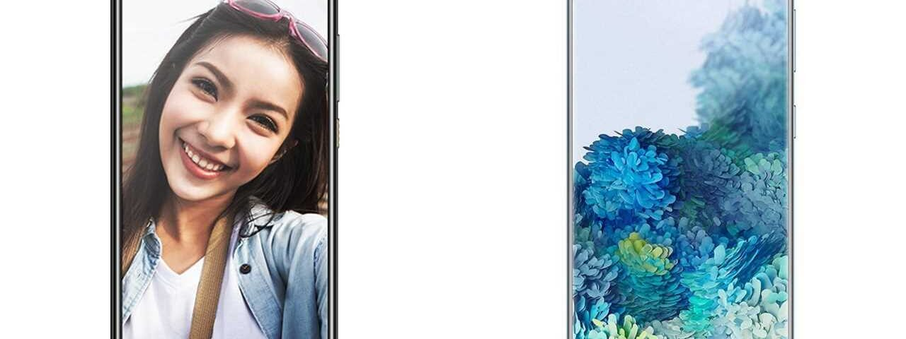 HTC U20 5G vs Samsung Galaxy S20 5G phones