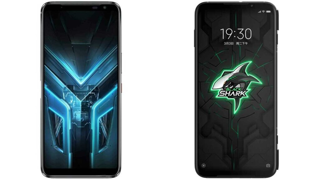 Asus ROG Phone 3 vs Xiaomi Black Shark 3 Pro