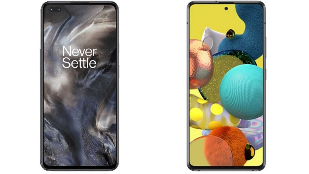 OnePlus Nord vs Samsung Galaxy A51 5G