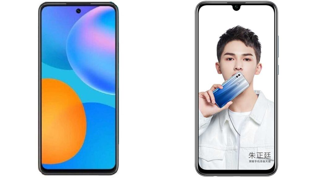 Huawei P Smart 2021 vs Huawei Honor 10 Lite phones