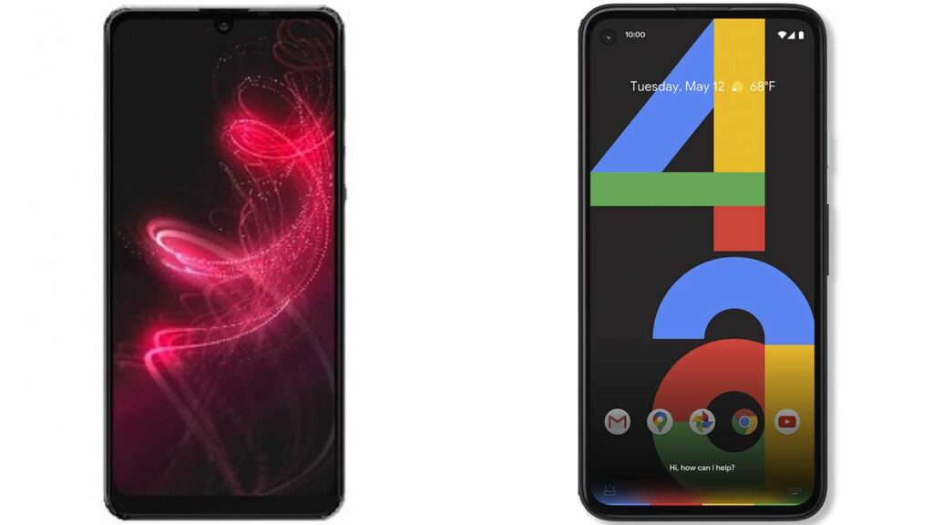 Sharp Aquos zero 5G Basic vs Google Pixel 4a